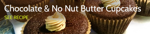 Chocolate No Nut Butter Cupcakes