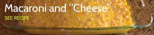 Macaroni and cheese - RS