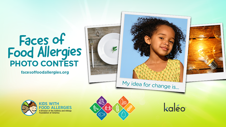 Faces of Food Allergies Photo Contest