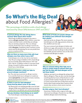 What is the Big Deal about Food Alergies?