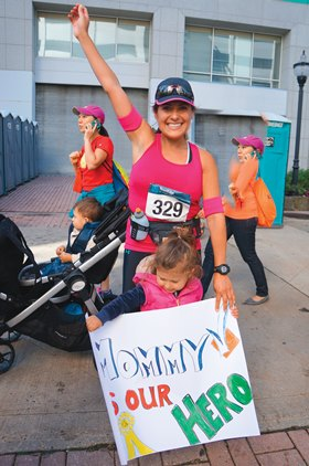 ies A Race to Fight Allergies - Mia Bussin and and Mother Lilly