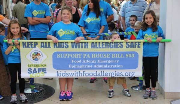 Strides for safe kids