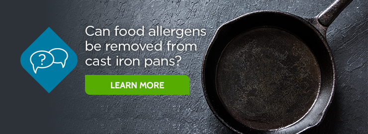 Cast Iron Skillets and Food Allergies