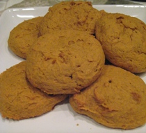 Annika's Soft Pumpkin Cookies