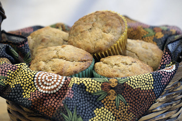 Millet Banana Muffins