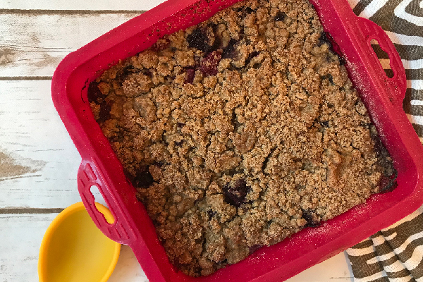 Blackberry and Raspberry Crisp