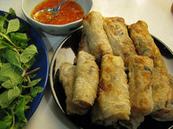 Chef Luca's Spring Rolls