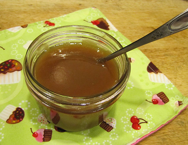 French Vanilla Dairy-Free Caramel Sauce