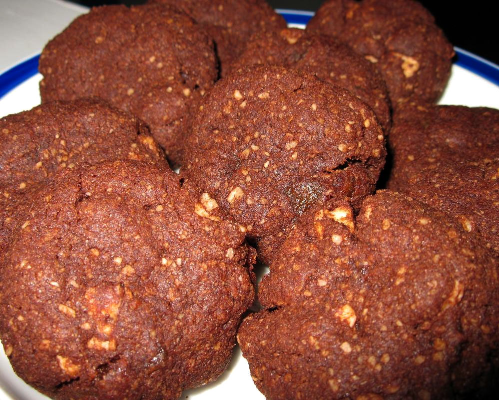 Passover Double Chocolate Cookies