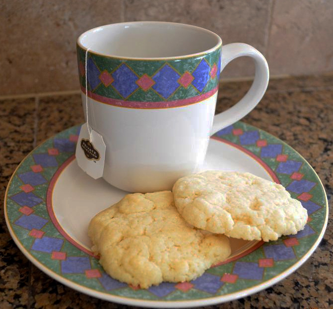 Sugar Drop Cookies with Oil