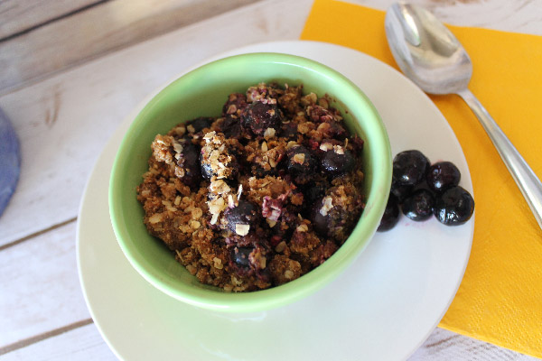 Oat Fruit Crisp